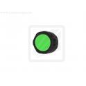 Зеленый фильтр ED20 для светодиодных фонарей с диаметром головной части  22-26 мм