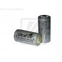 Аккумулятор Li-ion 16340 UltraFire 3.6v 880mAh  (размер CR123A)