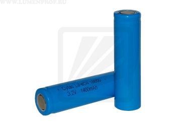 Морозостойкий аккумулятор Cytac 18650 LiFePO4 3.2V 1400mAh