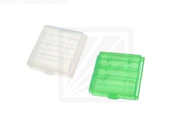 Пластиковый бокс для элементов питания АА и ААА