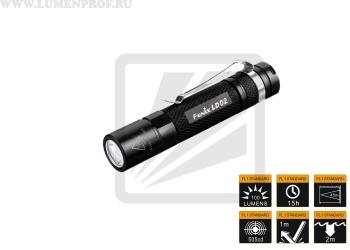 Fenix LD02 (XP-E2) Мощный миниатюрный светодиодный фонарик