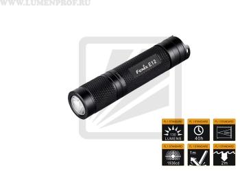 Fenix E12 (XP-E2) Карманный светодиодный фонарик