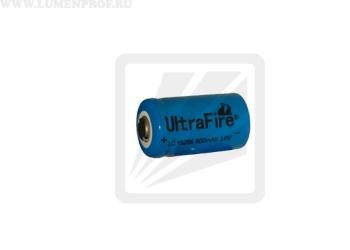 Аккумулятор Li-ion 15266 UltraFire 3.6v 880mAh  (размер CR2)
