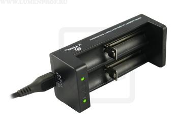 XTAR MC2 Двухканальное зарядное  USB-устройство для Li-Ion аккумуляторов
