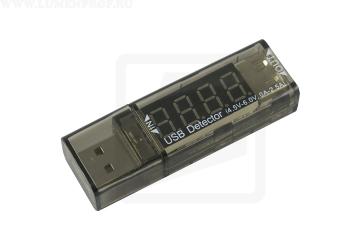 XTAR VI01 USB Detector  Тестер тока и напряжения USB-разъемов