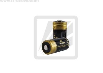 Литиевая батарейка CR123A XTAR Lithium 3.0v 1400mAh