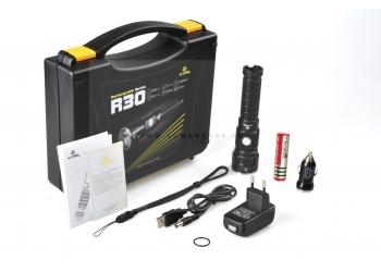 Подарочный набор XTAR R30 (XM-L2 U2) Аккумуляторный фонарь со встроенным зарядным устройством