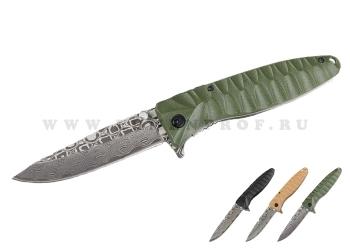 Туристический раскладной нож Ganzo G620 (клинок с травлением)