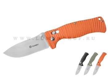 Складной туристический нож с широким лезвием Ganzo G720