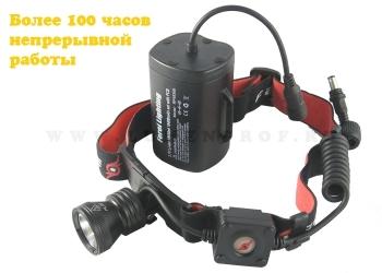Ferei HL20 Belt-4 (XM-L2) Светодиодный налобный фонарь с мощным аккумулятором (10400 мАч)