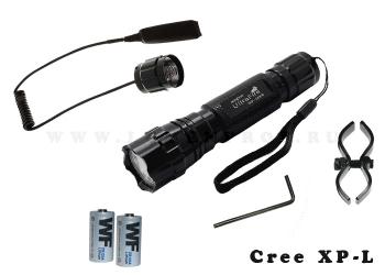 Комплект охотника UltraFire WF-501B (XP-L)