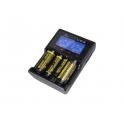 XTAR VC2 Зарядное устройство для литиевых аккумуляторов с функцией измерения ёмкости
