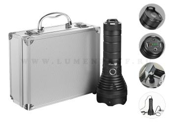 LUMINTOP SD75  (CREE XHP70) Мощный светодиодный поисковый фонарь-прожектор, с функцией powerbank