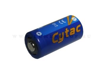 Литиевая батарейка высокой емкости CR123A Cytac 3.0v 1700mAh